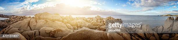 Sardinia and Corsica Mediterranean Sea Landscape - mobilestock