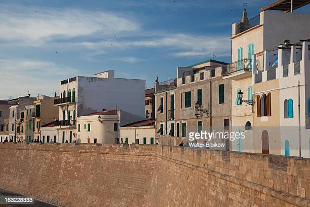 Sardinia, Italy, City View