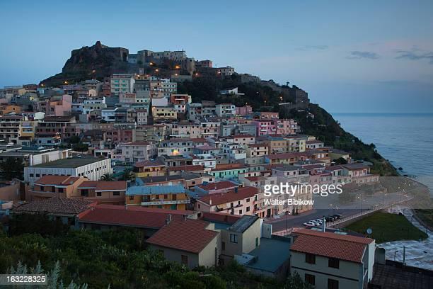 Sardinia, Italy, Town View