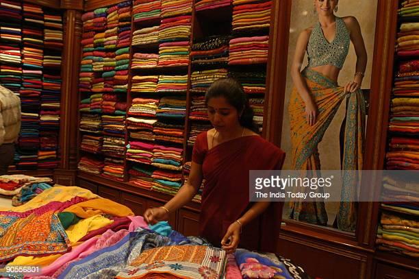 Saree collection at Deepam Shop or Store in Bangalore Karnataka India