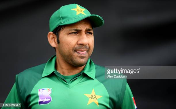 Sarfaraz Ahmed of Pakistan walks out the changing room during the 5th One Day International between England and Pakistan at Headingley on May 19 2019...