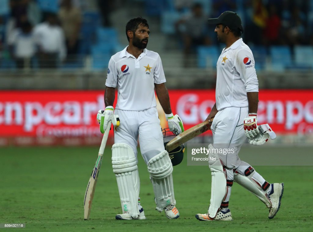 Pakistan v Sri Lanka - Day Four : News Photo