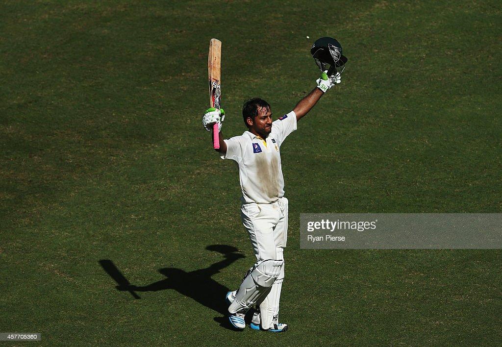 Pakistan v Australia - 1st Test Day Two : News Photo