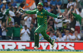 london england sarfraz ahmed pakistan celebrates