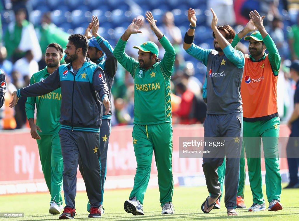 England v Pakistan - ICC Champions Trophy Semi Final : News Photo