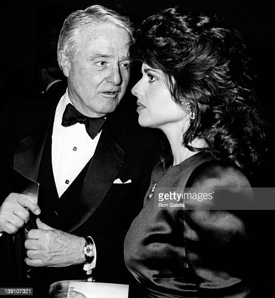 Sargent Shriver and Maria Shriver attend 10th Annual Kennedy Center Honors A Celebration of the Performing Arts on December 5 1987 at the State...