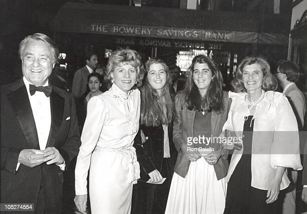 Sargent Shriver Patricia Kennedy Lawford and her two daughters Robin Elizabeth Lawford Sydney Maleia Lawford and Eunice Kennedy Shriver