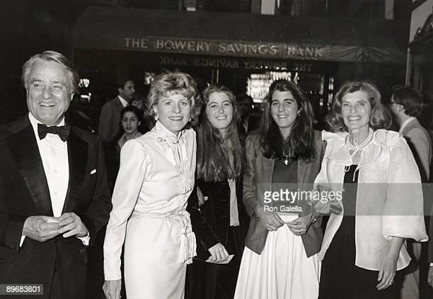 Sargent Shriver Patricia Kennedy Lawford Robin Elizabeth Lawford Sydney Maleia Lawford and Eunice Kennedy Shriver