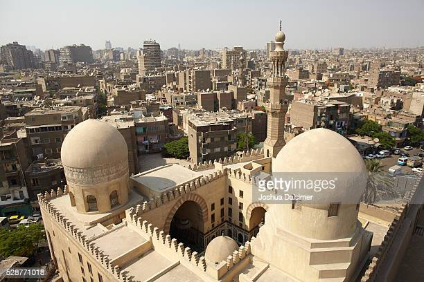 Sarghatmish Madrasa seen from the minaret of Ibn Tulun mosque