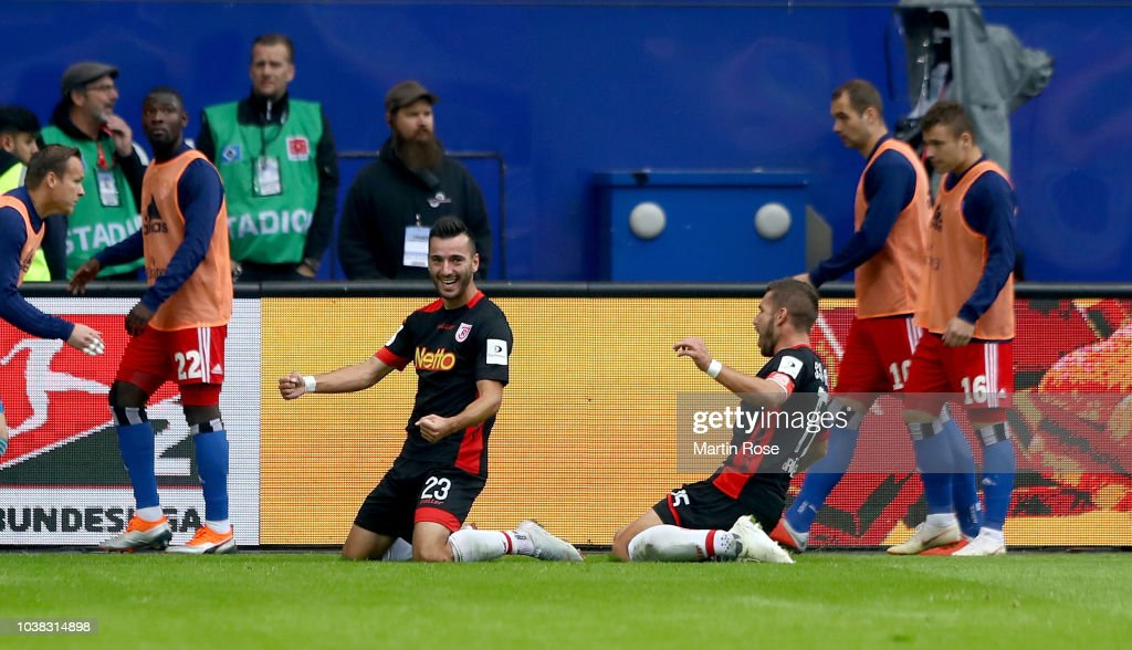 Hamburger SV v SSV Jahn Regensburg - Second Bundesliga : News Photo