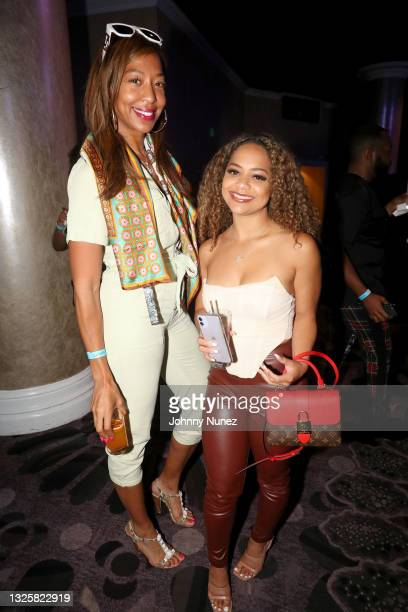 Sari Baez attends the 5th Annual Innovators & Leaders Awards Brunch hosted by Culture Creators at The Beverly Hilton on June 26, 2021 in Beverly...