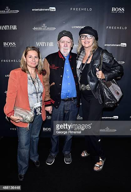 Sari Ruda Marshall TIFF Festival Founder William Marshall and Yanka Van der Kolk attend the Vanity Fair toast of 'Freeheld' at TIFF 2015 presented by...