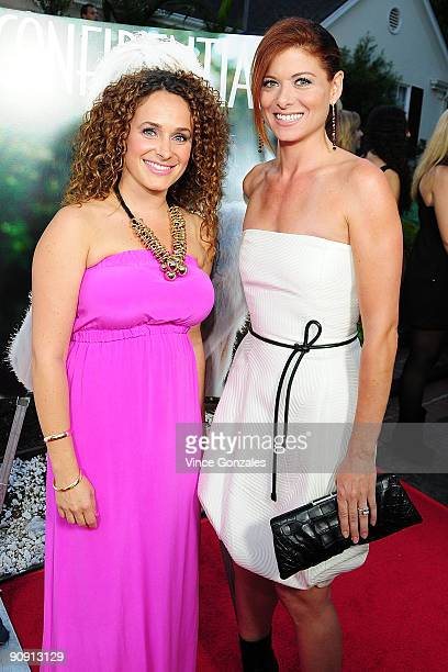 Sari Tuschman and Debra Messing attend Los Angeles Confidential magazine's annual pre-Emmy party, hosted by Heidi Klum and Niche Media CEO Jason...