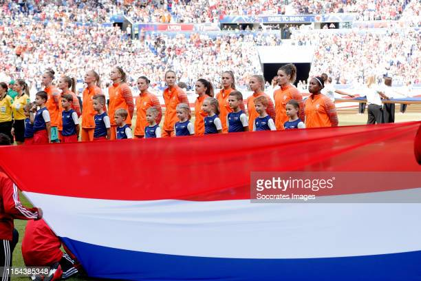 Sari van Veenendaal of Holland Women Desiree van Lunteren of Holland Women Stefanie van der Gragt of Holland Women Anouk Dekker of Holland Women...