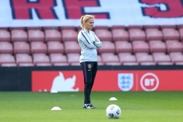 GBR: England Women Training Session