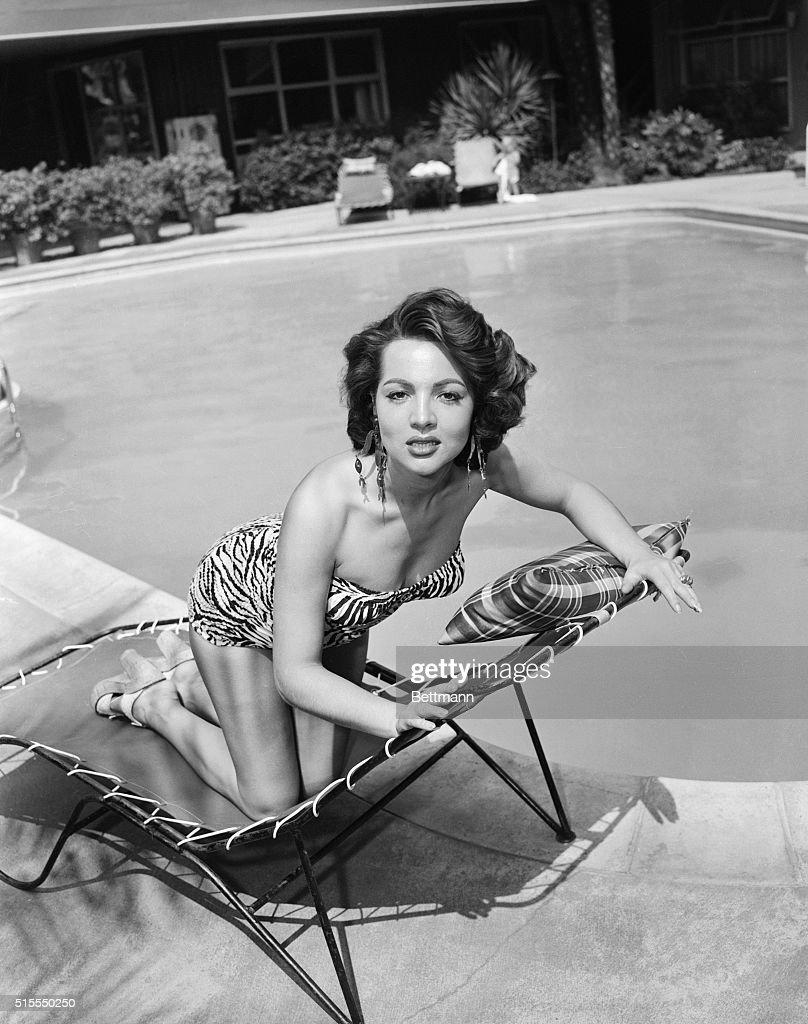 Sarita Montiel Wearing Bathing Suit : News Photo