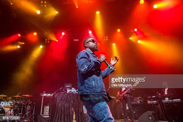 Sarkodie performs live on stage at The o2 Kentish Town Forum on November 24 2017 in London England