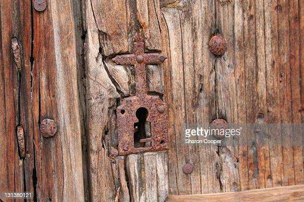 Sarlat cathedral lock