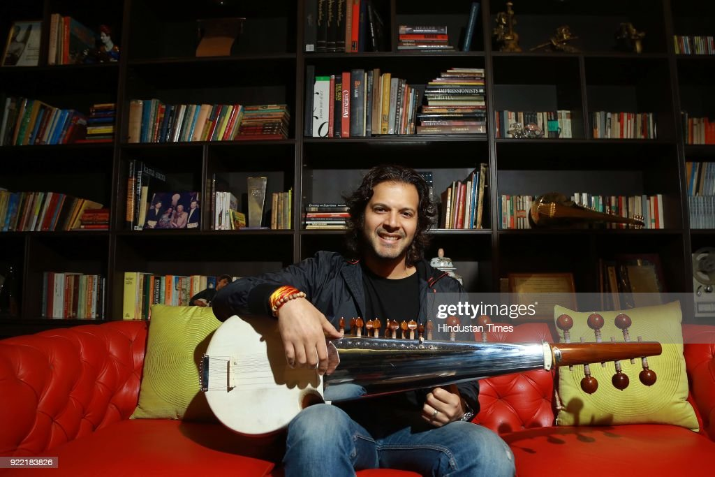 Sarod player Ayaan Ali Bangash poses during an exclusive interview with HT City-Hindustan Times, on February 1, 2018 in New Delhi, India. Sarod brothers Amaan Ali and Ayaan Ali believe that Indian classical musicians have a lot to offer to Bollywood films and filmmakers should collaborate with them.