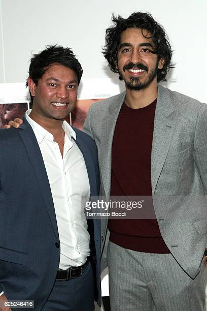 Saroo Brierley and Dev Patel attend the LION LA Special Screening on November 22 2016 in Beverly Hills California