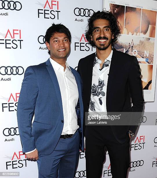 Saroo Brierley and Dev Patel attend the premiere of Lion at the 2016 AFI Fest at TCL Chinese 6 Theatres on November 11 2016 in Hollywood California