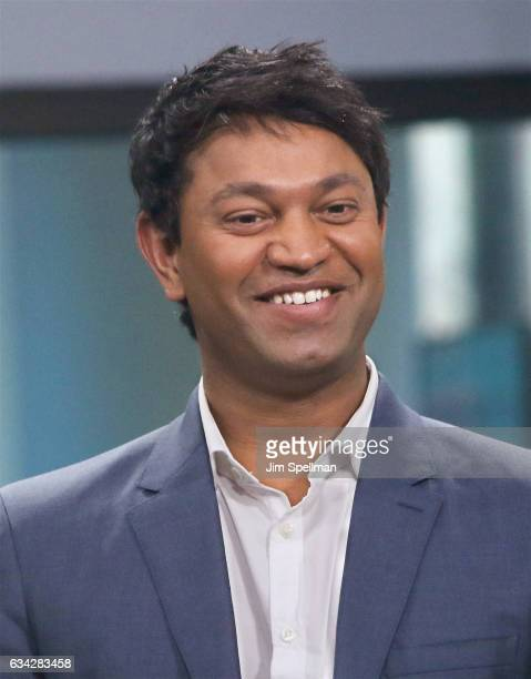Saroo Brierley attends the Build series to discuss Lion at Build Studio on February 8 2017 in New York City