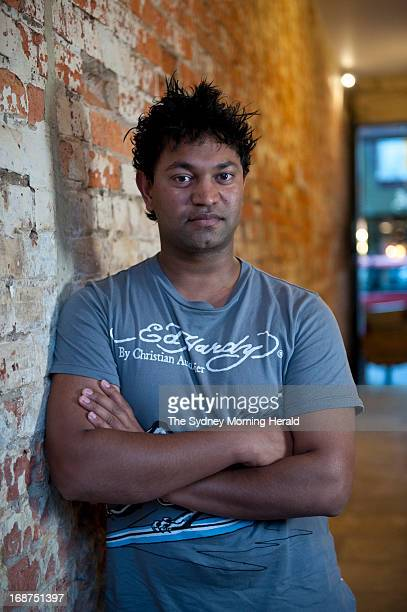 Saroo Brierley poses for a photo at his home on March 14 2012 in Hobart Australia Brierley was an Indian orphan and now lives in Australia