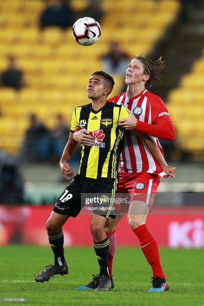 A-League Rd 26 - Wellington v Melbourne City : News Photo