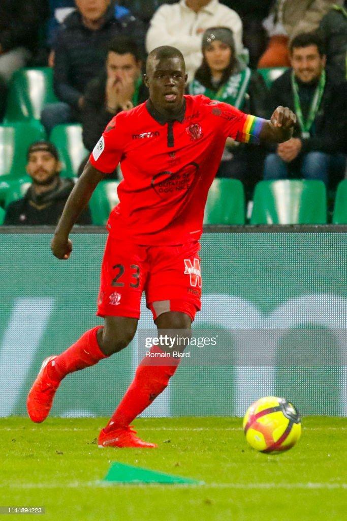AS Saint Etienne v OGC Nice - Ligue 1 : Nachrichtenfoto