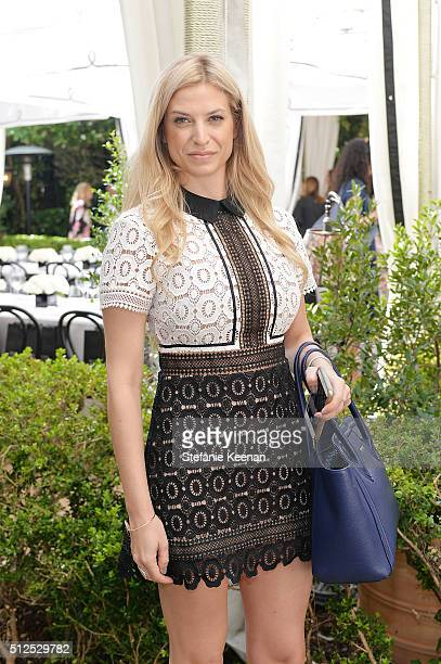 Sarrah Candee attends NETAPORTER Celebrates Women Behind The Lens at Chateau Marmont on February 26 2016 in Los Angeles California