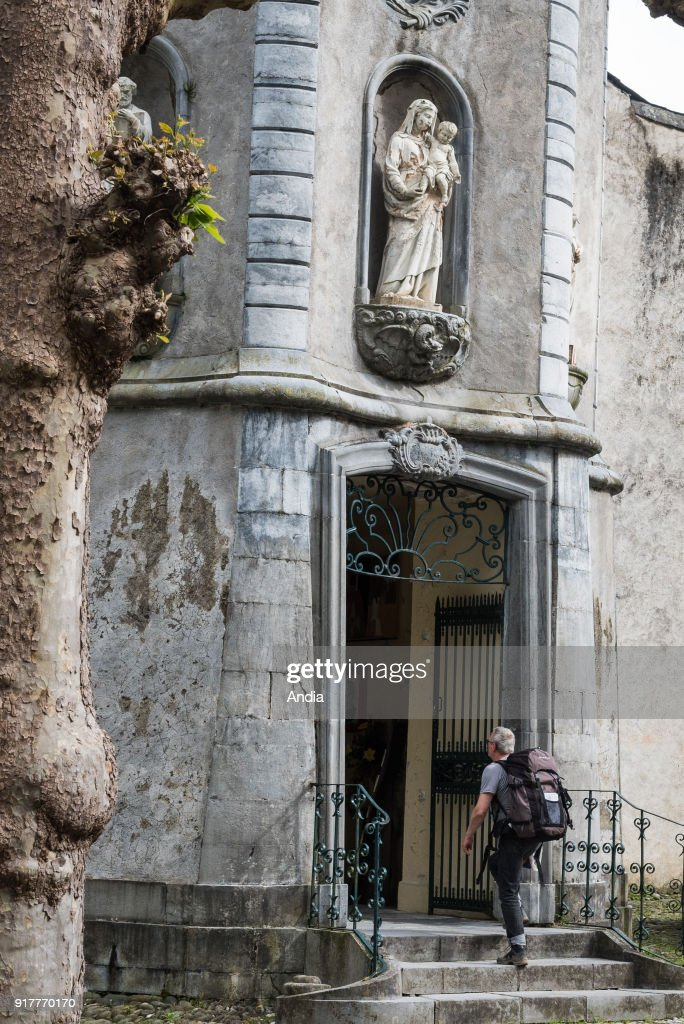 Church of Notre-Dame de Sarrance. : News Photo