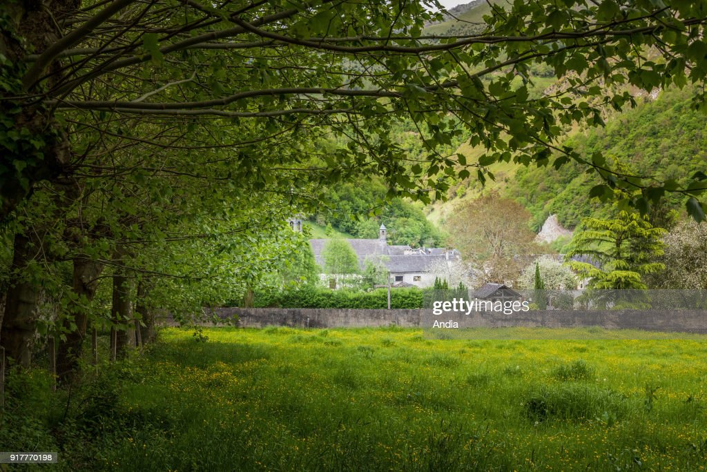 Monastery of Sarrance. : News Photo