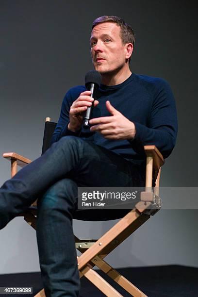 Sartorialist Photographer Scott Schuman speaks at Apple Store Soho on February 6 2014 in New York City