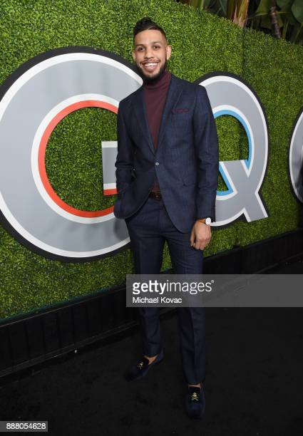 Sarunas Jackson attends the 2017 GQ Men of the Year party at Chateau Marmont on December 7 2017 in Los Angeles California
