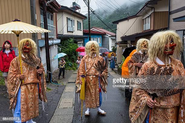 Sarutahiko-no-kami, guide for Mikoshi at summe