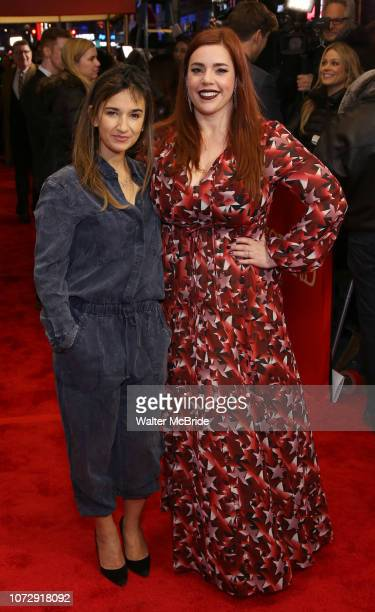Sas Goldberg and Alysha Umphress attend the Broadway Opening Night Performance of 'To Kill A Mockingbird' on December 13 2018 at The Shubert Theatre...