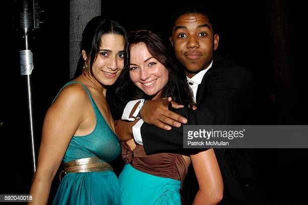 Sasa Jalali Lindsey Labrum and Chris Massey attend TV Guide Inside TV host Emmy Awards After PartyInside at Hollywood Roosevelt Hotel on September 18...