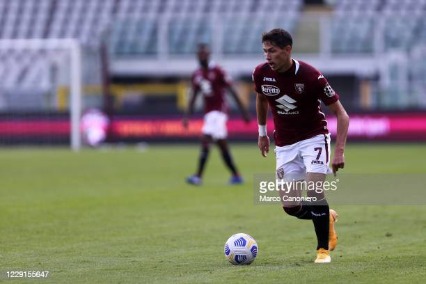 Sasa Lukic of Torino FC in action during the Serie A match between Torino Fc and Cagliari Calcio Cagliari Calcio wins 32 over Torino Fc