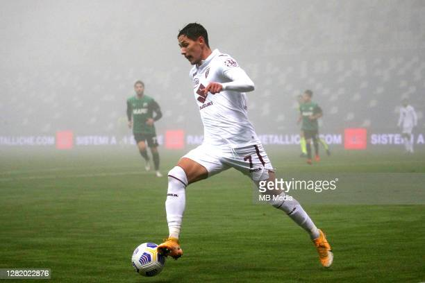 Sasa Lukic of Torino FC in action during the Serie A match between US Sassuolo and Torino FC at Mapei Stadium Città del Tricolore on October 23 2020...