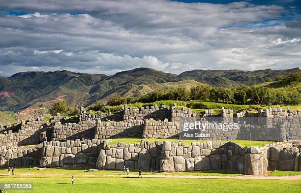 sasaywaman , cusco , peru - alex saberi stock pictures, royalty-free photos & images