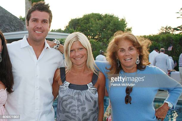 Sascha Baner, Jenilah Afsher, Chris Stern, Lizzie Grubman and Liz Robbins attend DELLA FEMINA'S FOURTH OF JULY PARTY at East Hampton on July 7, 2007.