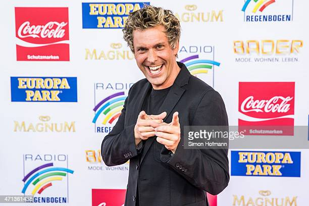 Sascha Grammel attends the Radio Regebenbogen Award Show 2015 at Europapark on April 24 2015 in Rust Germany
