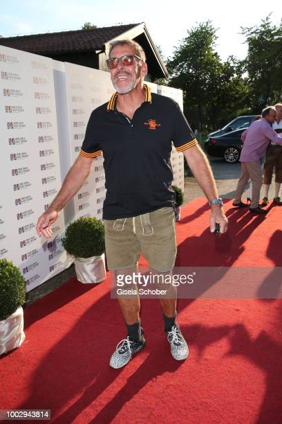 Peter Grimberg during a bavarian evening ahead of the Kaiser Cup 2018 on July 20 2018 in Bad Griesbach near Passau Germany