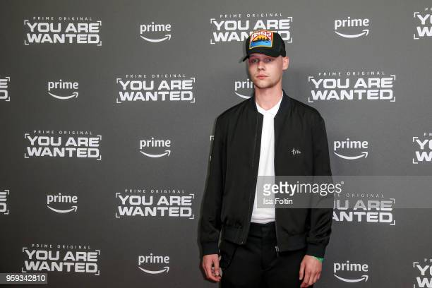Sascha Hellinger attends the premiere of the second season of 'You are wanted' at Filmtheater am Friedrichshain on May 16 2018 in Berlin Germany