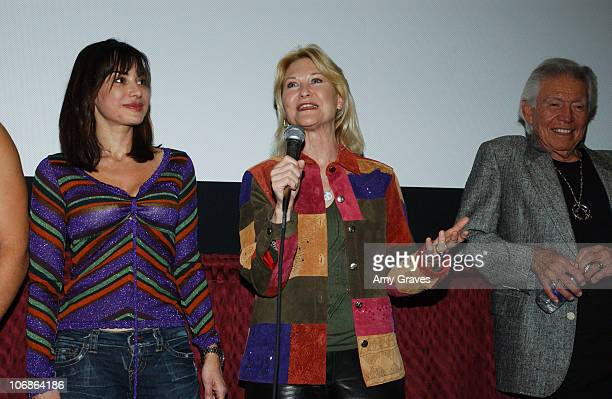 Sascha Knopf Dee Wallace Stone and Ned Romero during 17th Annual Palm Springs International Film Festival 'Expiration Date' Screening at Regal...