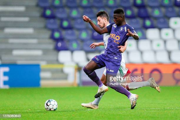 Sascha Kotysch of OH Leuven during the Jupiler Pro League match between Beerschot and OH Leuven at the Olympisch Stadion on October 31 2020 in...