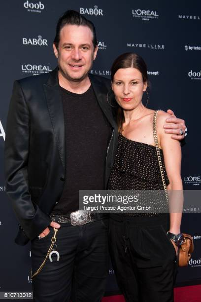 Sascha Vollmer Jenny Vollmer and his wife Johanna attend the MICHALSKY StyleNite during the MercedesBenz Fashion Week Berlin Spring/Summer 2018 at...