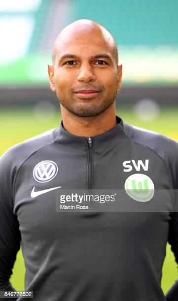 Sascha Weifl of VfL Wolfsburg poses during the team presentation at on September 13 2017 in Wolfsburg Germany