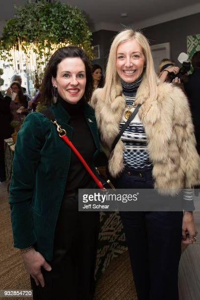 Sasha Adler attends Tory Burch Celebrates The Tory Burch PopUp at Nordstrom Michigan Avenue on March 15 2018 in Chicago Illinois