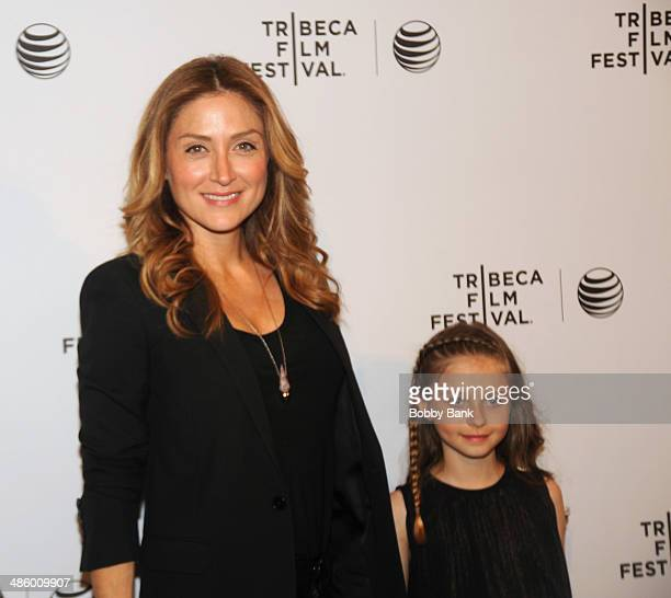 Sasha Alexander and Lucia Sofia Ponti attends the Shorts Program Soul Survivors during the 2014 Tribeca Film Festival at AMC Loews Village 7 on April...